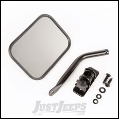 Outland Quick Release Rectangular Mirror Single For 1997-18 Jeep Wrangler TJ Models & JK 2 Door Or Unlimited 4 Door Models 391102513