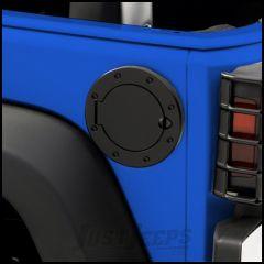 Outland Non-Locking Gas Cap Door Semi-Gloss Powder Coat For 2007-18 Jeep Wrangler JK 2 Door & Unlimited 4 Door Models 391122902