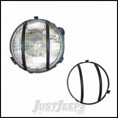 Outland Headlight Euro Guards (Black) For 1997-06 Jeep Wrangler TJ & TJ Unlimited Models 391123001