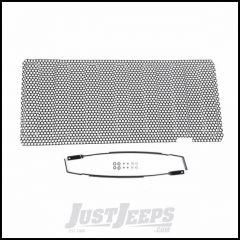 Outland (Black) Perforated Grille Insert For 2007-18 Jeep Wrangler JK 2 Door & Unlimited 4 Door Models 391140132