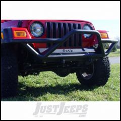 Outland (Black) RRC Front Bumper With Grille Guard For 1987-06 Jeep Wrangler YJ & TJ Models 391150211