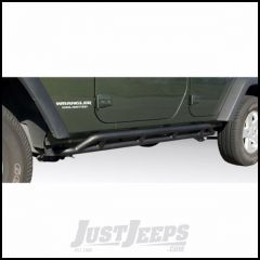 Outland RRC Rocker Guards Textured (Black) Powder Coat For 2007-18 Jeep Wrangler JK Unlimited 4 Door Models 391150422