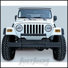 Outland Brush Guard Gloss (Black) Powder Coated For 1997-06 Jeep Wrangler TJ & TJ Unlimited Models 391151102