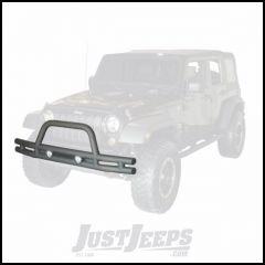 "Outland 3"" Front Tube Bumper Textured (Black) Powder Coat For 2007-18 Jeep Wrangler JK 2 Door & Unlimited 4 Door Models 391156110"