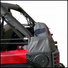 Outland Soft Top Storage Boot (Black) Diamond For 2007-18 Jeep Wrangler JK Unlimited 4 Door Models 391210451