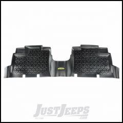 Outland (Black) All Terrain Rear Floor Liners 1-Pc For 2007-18 Jeep Wrangler JK 2 Door & Unlimited 4 Door Models 391295001