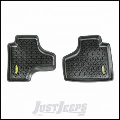 Outland (Black) All Terrain Rear Floor Liners Pair For 2008-13 Jeep Liberty KK Models 391295020