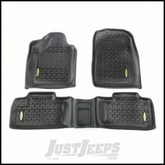 Outland All Terrain Floor Liner Kit (Black) Front & 2nd Row For 2011-17 Jeep Grand Cherokee 391298726