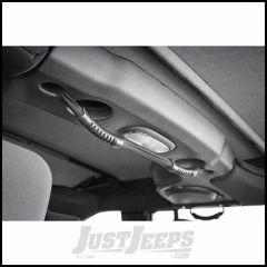 Outland Rear Dual Grab Strap (Black) For 2007-18 Jeep Wrangler JK Unlimited 4 Door Models 391330512