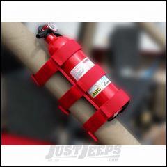 Outland Red Sport Bar Fire Extinguisher Holder 391330520