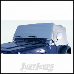 Outland Water Resistant Vinyl Cab Cover (Grey) For 1987-91 Jeep Wrangler YJ 391331009