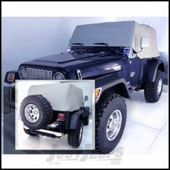 Outland Water Resistant Vinyl Cab Cover (Grey) For 1992-06 Jeep Wrangler YJ & TJ 391331609