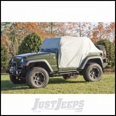 Outland Weather-Lite Cab Cover (Grey) For 2007-18 Jeep Wrangler JK 2 Door Models Without Soft Top & Hardware 391331710
