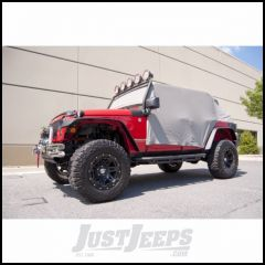 Outland Water Resistant Vinyl Cab Cover (Grey) For 2007-18 Jeep Wrangler JK Unlimited 4 Door Models 391331809