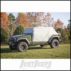 Outland Weather Lite Cab Cover (Grey) For 2007-18 Jeep Wrangler JK Unlimited 4 Door Models 391331810