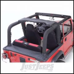 Outland (Black Denim) Roll Bar Cover Kit For 1992-95 Jeep Wrangler YJ 391361115