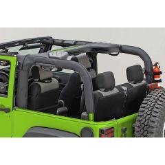 Outland (Black) Polyester Roll Bar Cover For 2007-18 Jeep Wrangler JK Unlimited 4 Door Models 391361301