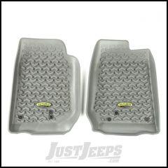 Outland (Grey) Front Floor Liners For 2007-18 Jeep Wrangler JK 2 Door & Unlimited 4 Door Models 391492003