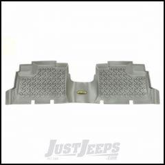 Outland (Grey) All Terrain Rear Floor Liners 1-Pc For 2007-18 Jeep Wrangler JK Unlimited 4 Door Models 391495001