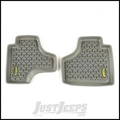 Outland (Grey) All Terrain Rear Floor Liners For 2008-13 Jeep Liberty KK Models 391495020