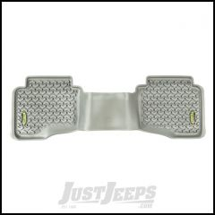 Outland (Grey) All Terrain Rear Floor Liners 1-Pc For 2005-10 Jeep Grand Cherokee WK & 2006-10 Jeep Commander XK 391495026
