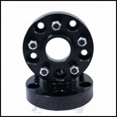 "Outland 1.375"" (Black) Aluminum Wheel Adapters Convert 5"" X 5"" To 5"" X 4.5"" Bolt Pattern 391520106"
