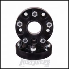 "Outland 1.5"" (Black) Aluminum Wheel Spacers Fit 5"" X 4.5"" Bolt Pattern For 1987-06 Jeep Wrangler YJ & TJ Models 1984-01 Jeep Cherokee XJ 391520108"