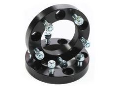 "Outland 1.25"" (Black) Aluminum Wheel Spacers Fit 5"" X 5.5"" Bolt Pattern For 1976-86 Jeep CJ Series 391520103"