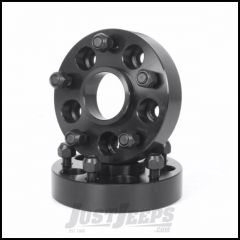 "Outland 1.375"" (Black) Aluminum Wheel Adapters Convert 5"" X 4.5"" To 5"" X 5"" Bolt Pattern 391520111"