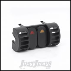 Outland A/C Vent Switch Pod Kit For 1997-06 Jeep Wrangler TJ & TJ Unlimited Models With 2 Rocker Switches 391723580
