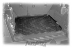 WeatherTech Rear Cargo Liner Without Factory Subwoofer For 2018+ Jeep Wrangler JL Unlimited 4 Door Models 401171
