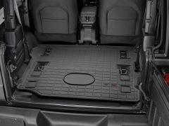 WeatherTech Rear Cargo Liner W/ Back Seat Removed For 2018+ Jeep Wrangler JL 2 Door Models 401198