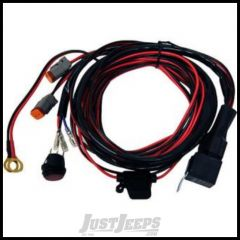 Rigid Industries Wire Harness -D2 w/Fuse & Relay Pair 16AWG 40196