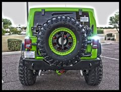 Rigid Industries SR-M Series Tail Light Mount On Driver Side For 2007-18 Jeep Wrangler JK 2 Door & Unlimited 4 Door Models 40311