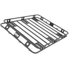 SmittyBilt Defender Series Roof Rack Basket 4' X 5' One Piece Welded For CJ-YJ-TJ w/hard top 40504
