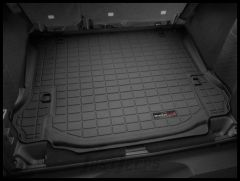 WeatherTech Cargo Liner With Subwoofer In Black For 2011-14 Jeep Wrangler JK Unlimited 4 Door Models 40518