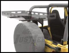 BESTOP HighRock 4X4 Tailgate Rack Bracket For 1987-06 Jeep Wrangler YJ & TJ Models 41411-01