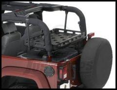 BESTOP HighRock 4X4 Lower Cargo Rack Bracket For 2003-18 Jeep Wrangler TJ & JK 2 Door Models 41437-01