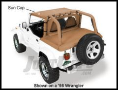 Pavement Ends Sun Cap In Spice Denim For 1992-95 Jeep Wrangler YJ 41514-37