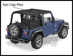 Pavement Ends Sun Cap Plus In Black Diamond For 2003-06 Jeep Wrangler TJ 41521-35
