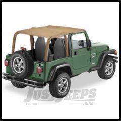 Pavement Ends Sun Cap Plus In Spice Denim For 1997-02 Jeep Wrangler TJ Models 41530-37