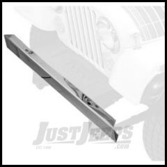 Rugged Ridge Replacement Front Bumper in Stainless (w/o Holes) 1955-86 CJ Series 11107.03