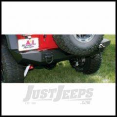 Rugged Ridge XHD Rear Bumper in Textured Black For 2007-18 Jeep Wrangler JK 2 Door & Unlimited 4 Door Models 11546.20