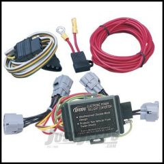 Hopkins Simple Plug-in Trailer Wiring Harness Kit For 1994-98 Jeep Grand Cherokee ZJ (Without Tow Package) 42515