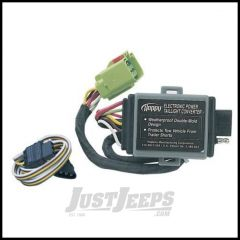 Hopkins Simple Plug-in Trailer Wiring Harness Kit For 1999-04 Jeep Grand Cherokee WJ 42535