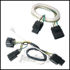 Hopkins Simple Plug-in Trailer Wiring Harness Kit For 2005-06 Jeep Wrangler TJ Models 42625