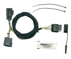 Hopkins Simple Plug-in Trailer Wiring Harness Kit For 2007-18 Jeep Wrangler JK 2 Door & Unlimited 4 Door Models 42635