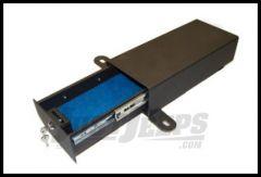 BESTOP Underseat Storage Lock Box On Drivers Side In Black For 1997-06 Jeep Wrangler TJ & TLJ Unlimited Models 42641-01