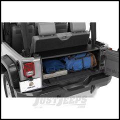 BESTOP Instatrunk 4 Piece Kit In Black For 2011-18 Jeep Wrangler JK 2 Door & Unlimited 4 Door (16-Gauge Steel) 42704-01