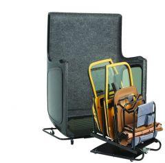 BESTOP HOSS Hardtop Carrier & Door Storage Cart For 1987-06 Jeep Wrangler YJ & TJ 42801-01